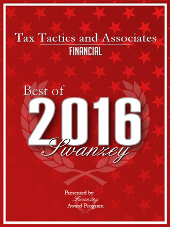Tax Tactics & Associates Award 2016