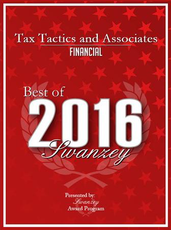 Tax Tactics & Associates Award 2016